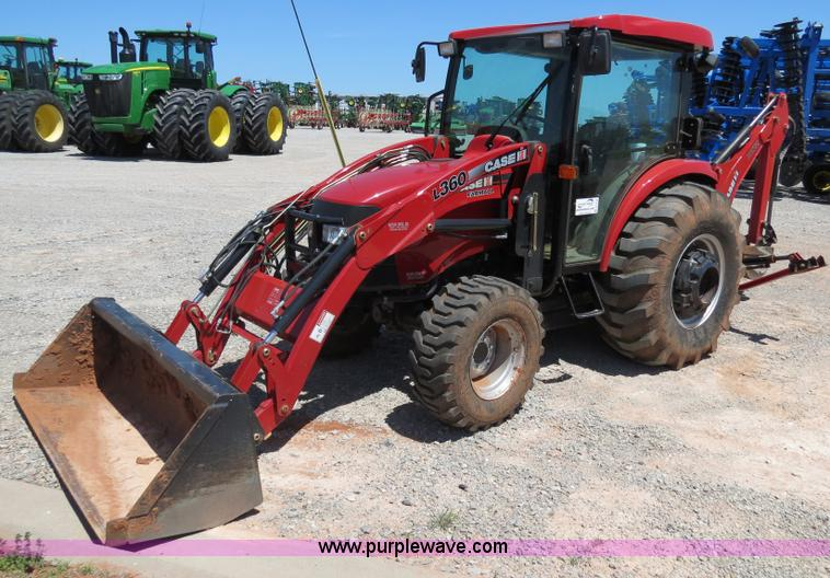 B4739.JPG - 2010 Case IH Farmall 60 MFWD tractor , 242 hours on meter , Shibaura 2 2L four cylinder turbo diesel...