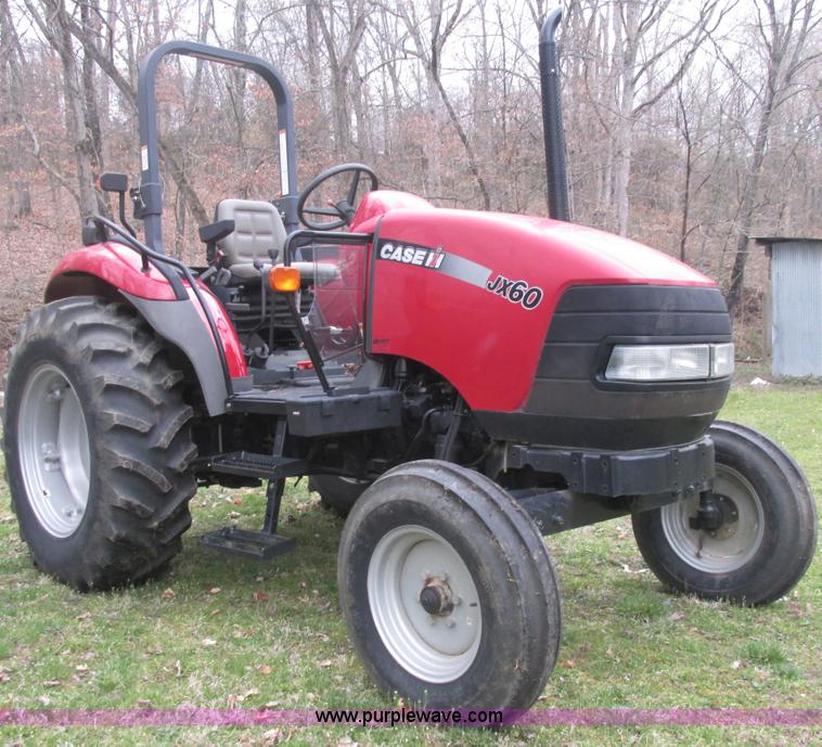 E7188.JPG - 2008 Case IH JX60 tractor , 51 actual hours , Three cylinder diesel engine , Serial 50V047535 , Four...