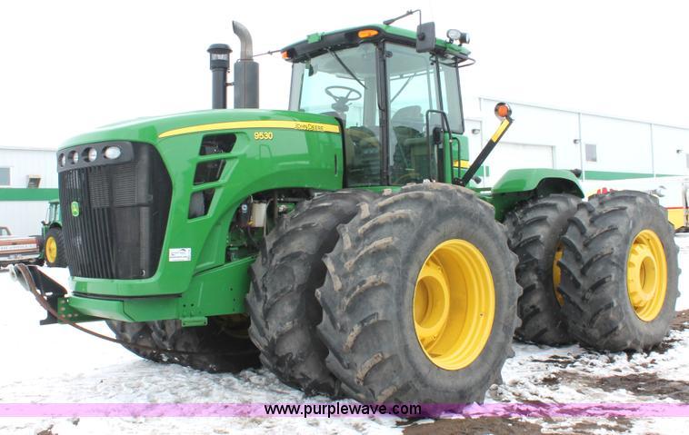 H3706.JPG - 2009 John Deere 9530 4WD tractor , 2,019 hours on meter , John Deere 13 5L six cylinder turbo diesel...