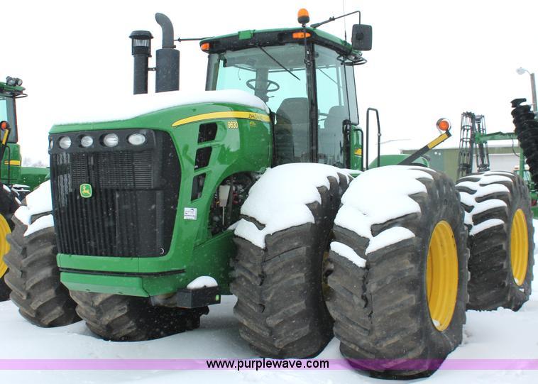 H3722.JPG - 2010 John Deere 9630 4WD tractor , 845 hours on meter , John Deere 6135HRW01 six cylinder diesel eng...