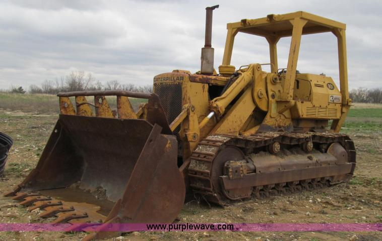E3898.JPG - 1974 Caterpillar 977L track loader , 3,187 hours on meter , Caterpillar 3306 six cylinder turbo dies...