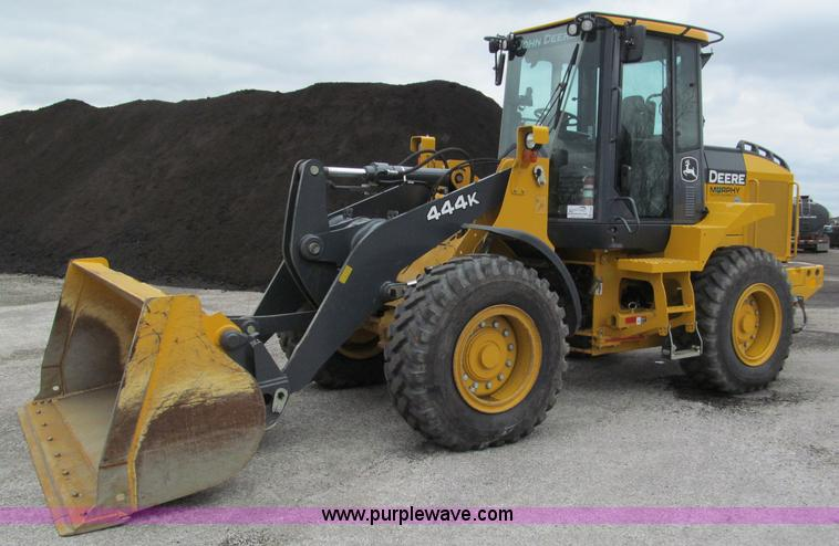 E5860.JPG - 2011 John Deere 444K articulated wheel loader , 479 actual hours , John Deere Tier III four cylinder...