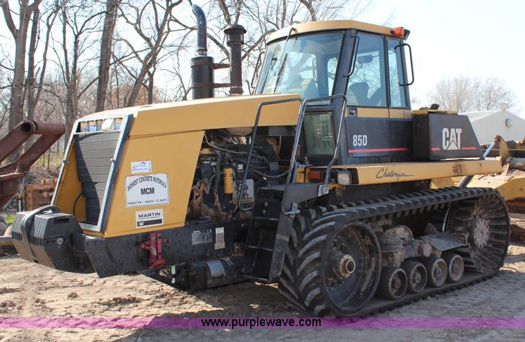 G5408.JPG - 1996 Caterpillar Challenger 85D tractor , 6,846 hours on meter , Caterpillar 3196 six cylinder diese...