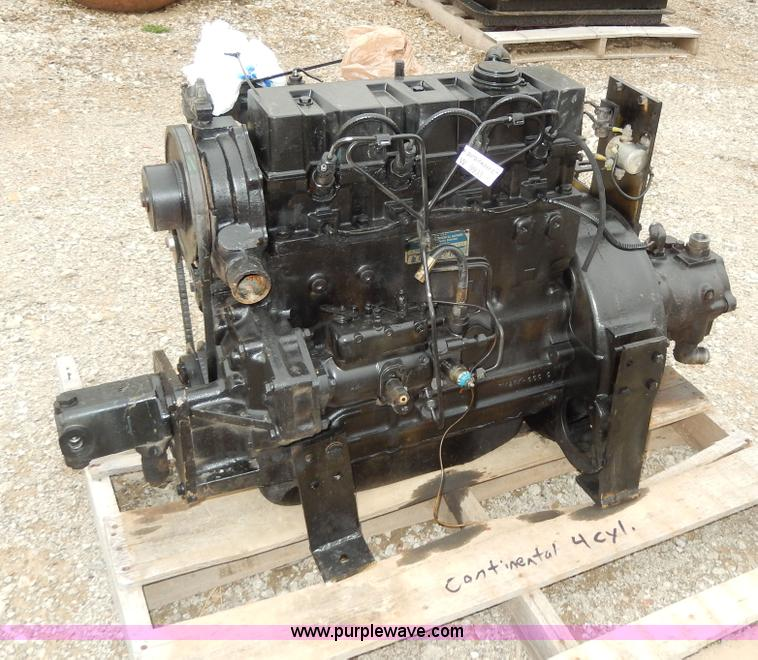 Continental four cylinder diesel engine | no-reserve ...