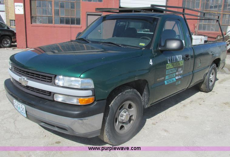 F4415.JPG - 1999 Chevrolet Silverado 1500 pickup truck , 262,409 miles on odometer , 4 3L V6 OHV 12V gas engine ...