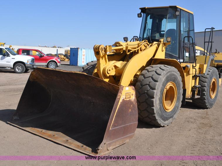 G6004.JPG - 1999 Caterpillar 950G wheel loader , 8,314 actual hours , Caterpillar 3126T diesel engine , 180 HP ,...