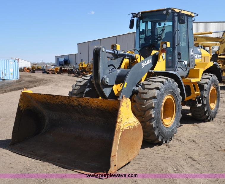 G6005.JPG - 2009 John Deere 544K wheel loader , 3,357 actual hours , 6068 turbo diesel engine , Serial PE6068L05...