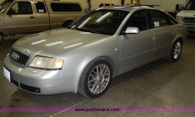 D8132.JPG - 2001 Audi A6 , 113,595 miles on odometer , 2 7L V6 DOHC 30V turbo gas engine , Automatic transmissio...