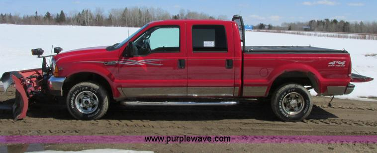 A8514.JPG - 2001 Ford F250 Lariat Super Duty pickup truck , 205,022 miles on odometer , 6 8L V10 SOHC 20V gas en...
