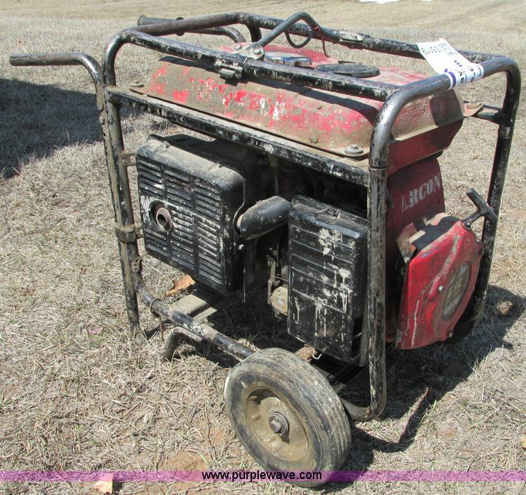 Honda Eb4000 Generator No Reserve Auction On Wednesday