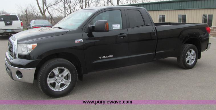G2930.JPG - 2007 Toyota Tundra SR5 Double Cab pickup truck , 143,480 actual miles , 5 7L V8 DOHC 32V gas engine ...