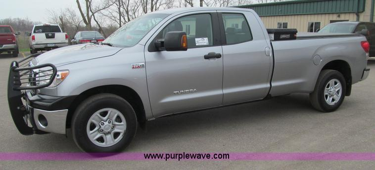 G2931.JPG - 2008 Toyota Tundra SR5 Double Cab pickup truck , 127,000 actual miles , 5 7L V8 DOHC 32V gas engine ...
