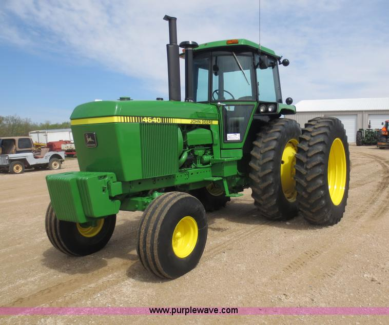 D5842.JPG - 1979 John Deere 4640 tractor , Hours unknown , John Deere six cylinder diesel engine , 165 HP , Powe...