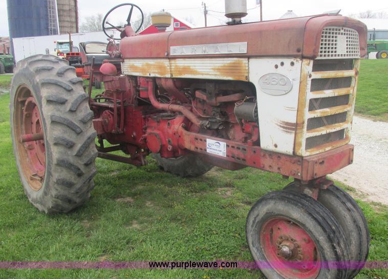 Farmall 460 Fuel Tank : International farmall tractor no reserve auction on