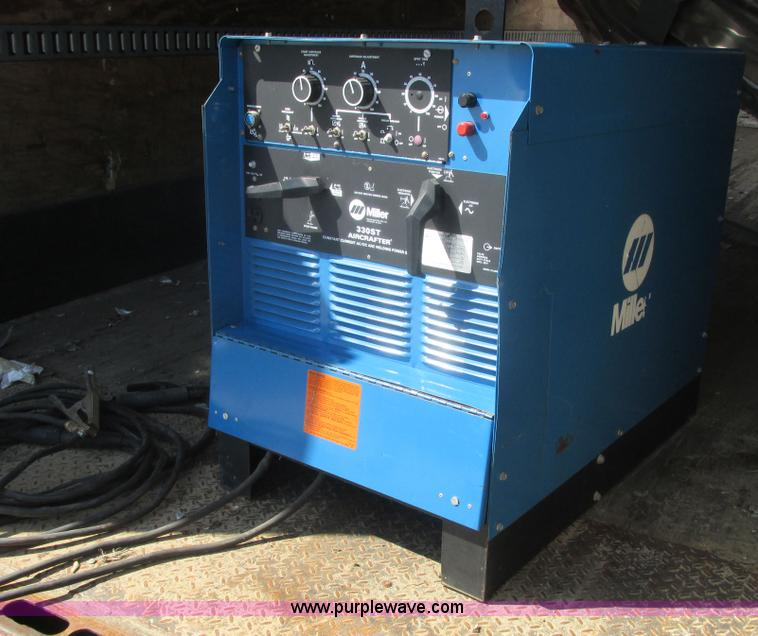 E7201.JPG - Miller 330ST Aircrafter constant current AC/DC arc welder , Serial JG121993 ...
