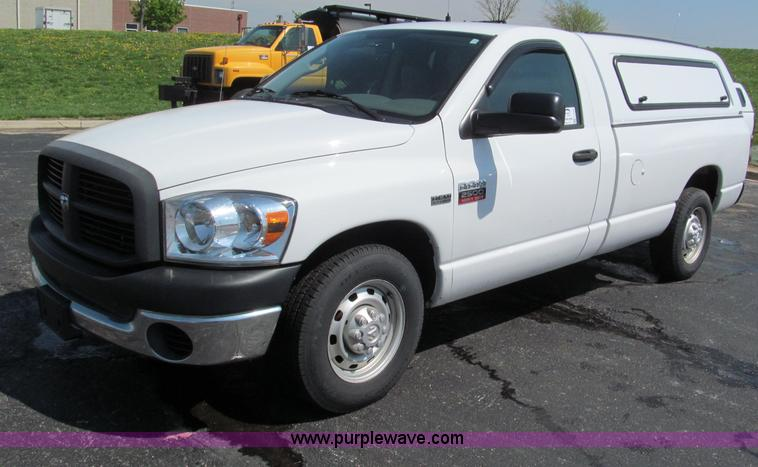 F5025.JPG - 2007 Dodge Ram 2500 HD pickup truck , 146,580 actual miles , 5 7L V8 OHV 16V gas engine , Automatic ...