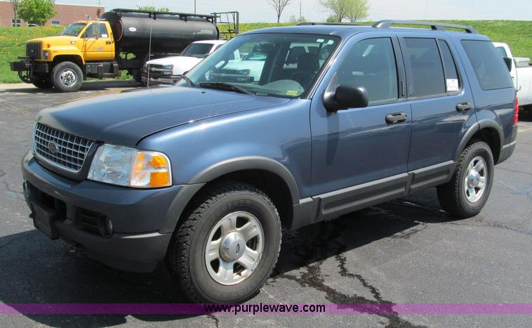 F5027.JPG - 2003 Ford Explorer XLT SUV , 145,205 actual miles , 4 6L V8 SOHC 16V gas engine , Automatic transmis...