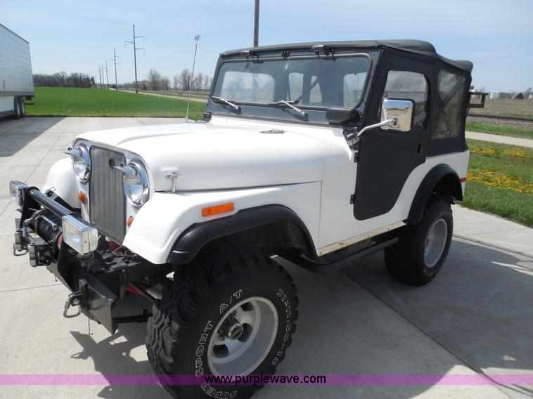 H3233.JPG - 1968 Jeep CJ5 , Dauntless Buick 226 cu in V6 gas engine , Four speed manual transmission , Heat , AM...