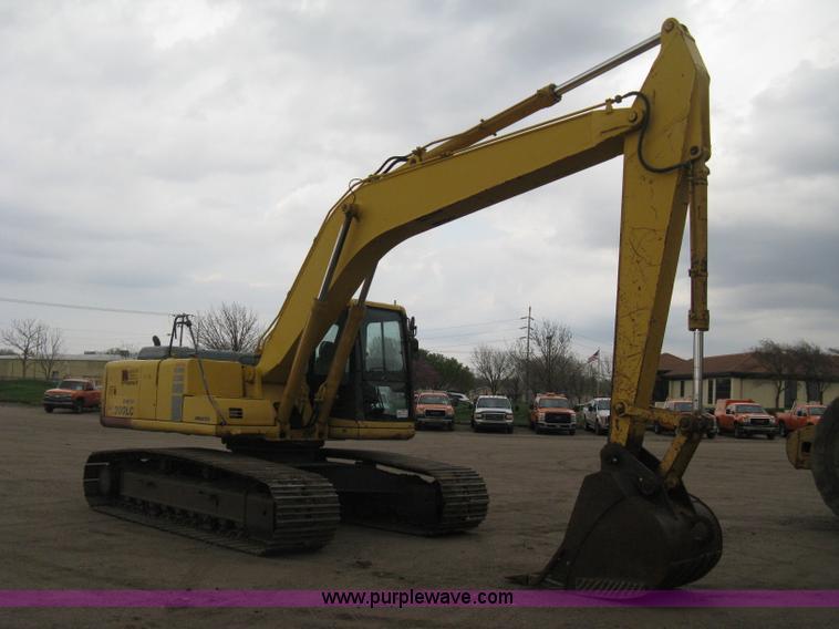 E3429.JPG - 1999 Komatsu PC200LC 6 Advance excavator , 10,024 hours on meter , Komatsu S6D102E 1 six cylinder di...
