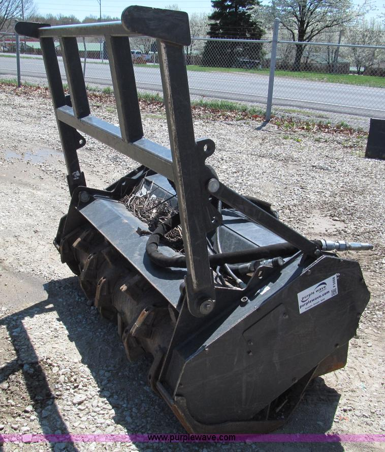 F5008.JPG - 2006 Bobcat 60FRST 60 quot forestry cutter , 42 quot H brush guard , Requires high flow auxiliary hy...