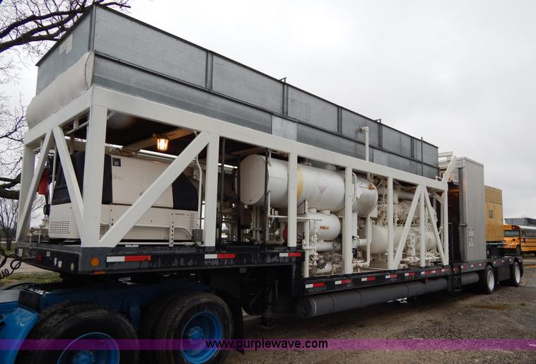 G3081.JPG - Portable industrial chilling unit with Caterpillar SR4B generator , Last used to chill jet fuel , Co...