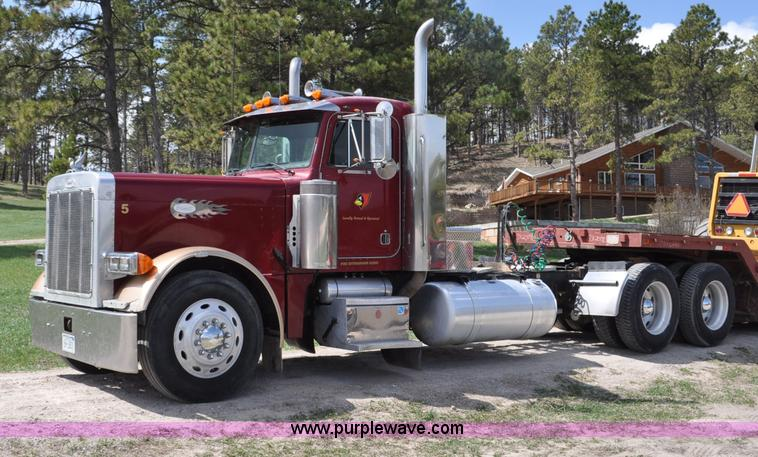 G6021.JPG - 1996 Peterbilt 379 semi truck , 1,162,982 miles on odometer , Miles may vary, still in use , Detroit...