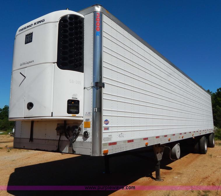 G3211.JPG - 2005 Utility 3000R 48 spread axle reefer trailer , Yanmar four cylinder diesel engine , Model TR486E...