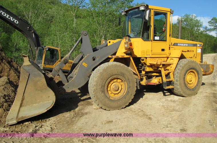 F8560.JPG - 2000 Volvo L90D wheel loader , 6,484 hours on meter , Volvo 5 5L diesel engine , Model TD63KBE , 4F ...