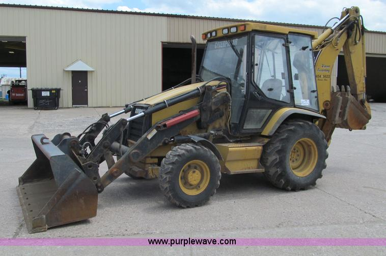 F8583.JPG - 1999 Caterpillar 416CIT backhoe , 5,276 hours on meter , Four speed transmission , Four wheel drive ...