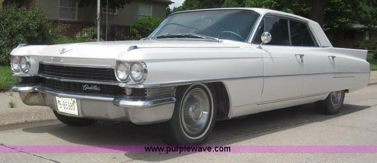 B5490.JPG - 1963 Cadillac DeVille Park Avenue , 70,871 miles on odometer , 390 CID V8 gas engine , Serial 63D015...
