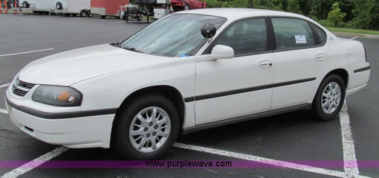 E3959.JPG - 2003 Chevrolet Impala , 144,111 miles on odometer , 3 8L V6 MPI gas engine , Automatic transmission ...