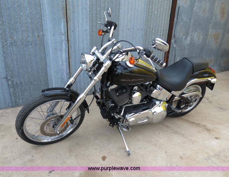 S9685.JPG - 2006 Harley Davidson Softail Deuce motorcycle , 6,605 miles on odometer , 1442cc V Twin four stroke ...