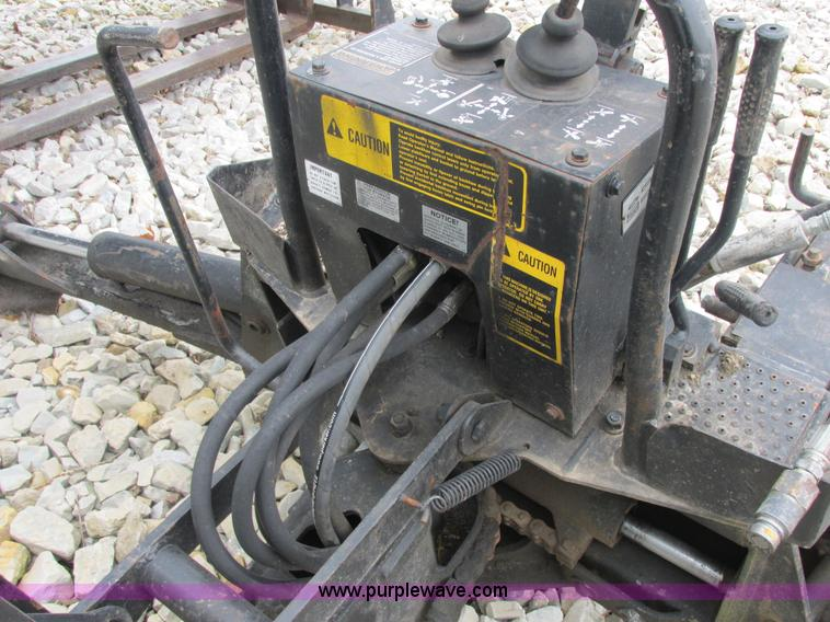 Ford Backhoe Controls : Ford new holland b skid steer backhoe attachment no