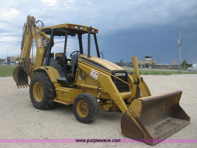 D8357.JPG - 1999 Caterpillar 416C backhoe , 2,429 hours on meter , Caterpillar four cylinder diesel engine , Ser...