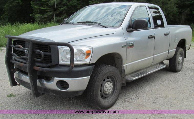 G2005.JPG - 2007 Dodge Ram 2500 HD Quad Cab pickup truck , 230,598 miles on odometer , 5 7L V8 OHV 16V gas engin...