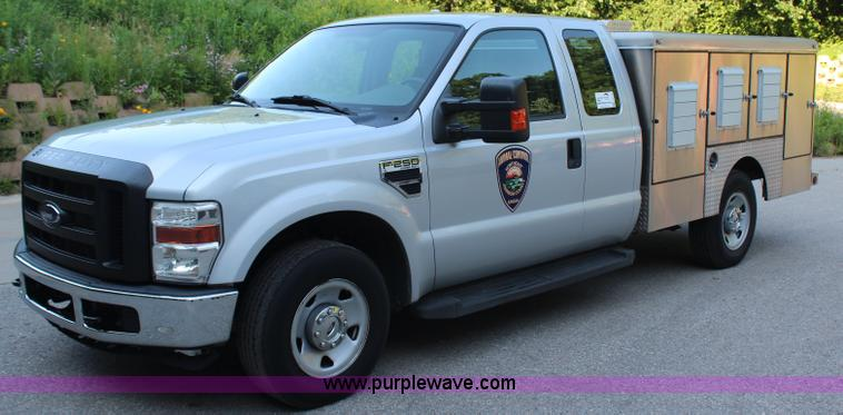 G5182.JPG - 2008 Ford F250 Super Duty XL SuperCab pickup truck , 87,864 miles on odometer , 5 4L V8 SOHC 16V gas...