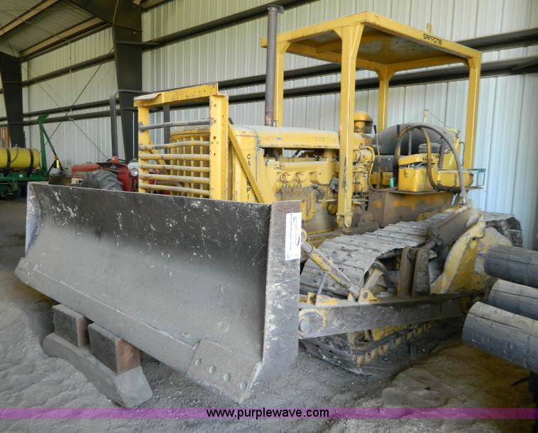 G7885.JPG - 1952 Caterpillar D6 dozer , 10,112 hours on meter , Caterpillar six cylinder diesel engine , Direct ...