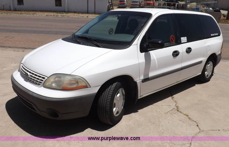 H7039.JPG - 2001 Ford Windstar LX minivan , 80,951 miles on odometer , 3 8L V6 OHV 12V gas engine , Automatic tr...