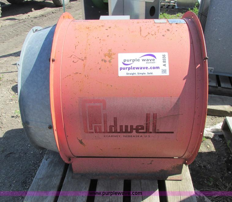 A8556.JPG - Caldwell F28 1212 bin fan , 28 quot diameter , Electric motor , 12 5 HP , 230V , Single phase , Seri...