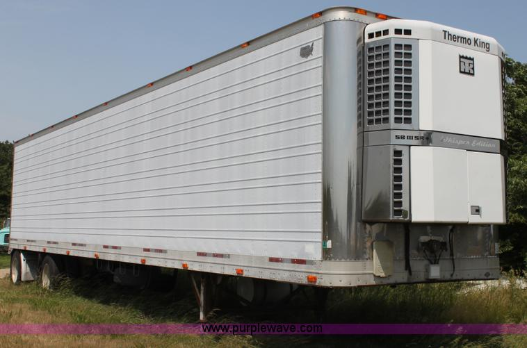 H7435.JPG - 1996 Wabash reefer trailer , 48L x 102 quot W , Spread axle , Air suspension , Air brakes , 24 5 quo...