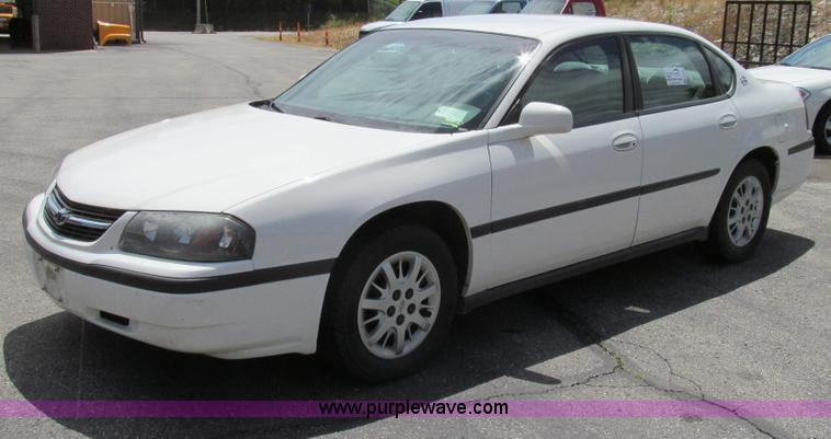 G2026.JPG - 2002 Chevrolet Impala , 126,607 miles on odometer , 3 4L V6 OHV 12V gas engine , Automatic transmiss...