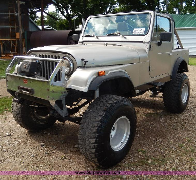 H3044.JPG - 1978 Jeep CJ , 69,097 miles on odometer , Chevrolet 350 gas engine , Automatic transmission , Heat ,...