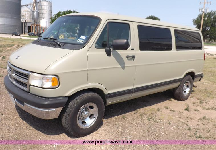 I7722.JPG - 1997 Dodge Ram Wagon B2500 van , 128,143 miles on odometer , 5 9L V8 OHV 16V gas engine , Automatic ...