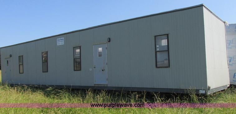 E7275.JPG - 1989 Coastal double wide mobile office trailer , 56 x 24 , Four individual offices , Great room , Du...