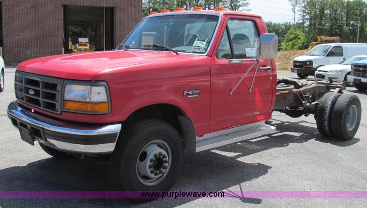 G2025.JPG - 1997 Ford F450 Super Duty truck cab and chassis , 137,110 miles on odometer , 7 3L V8 OHV 16V turbo ...