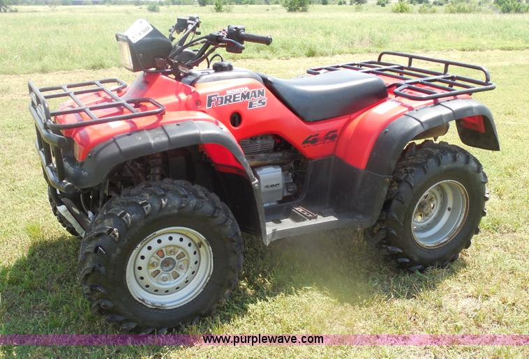 F3222.JPG - 2003 Honda Foreman 450ES ATV , 3,083 miles on odometer , 433cc single cylinder four stroke gas engin...
