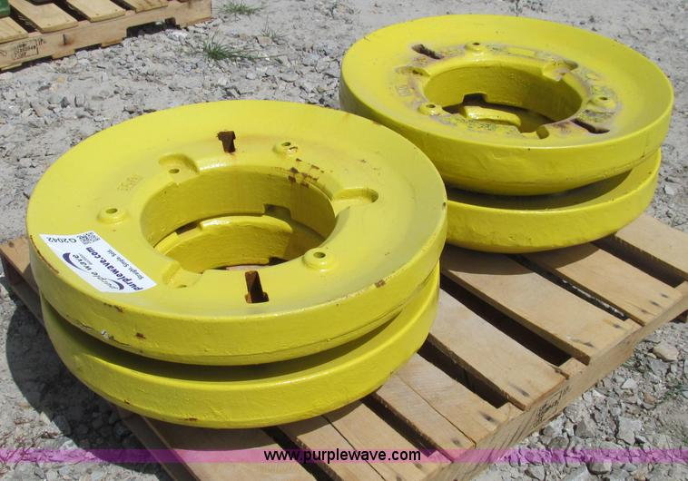 John Deere Rear Wheel Weights : Taylor john deere aftermarket rear wheel weights