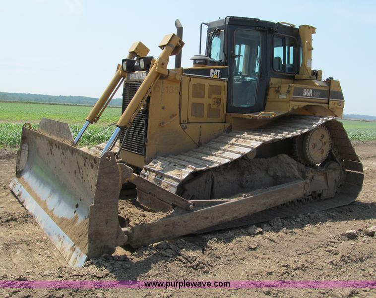 F5091.JPG - 2003 Caterpillar D6R LGP Series II dozer , 10,264 hours on meter , Hours may vary, still in use , Ca...