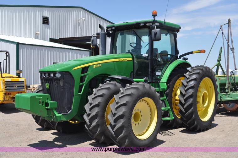 G6122.JPG - 2010 John Deere 8345R MFWD tractor , 2,531 hours on meter , John Deere 6090 9 0L six cylinder diesel...