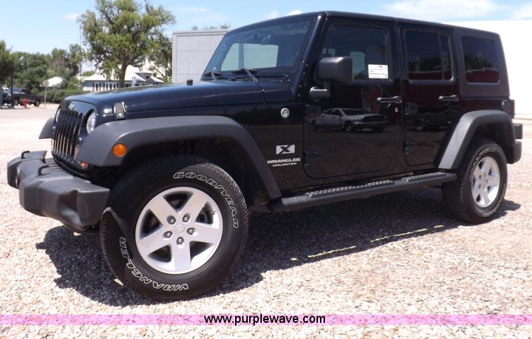 I7664.JPG - 2008 Jeep Wrangler Unlimited , 87,390 miles on odometer , 3 8L V6 OHV 12V gas engine , Automatic tra...